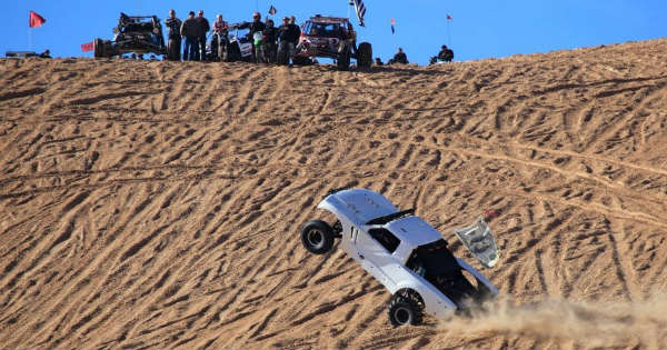 15-Year Old Bashes His LS7 Sand Truck in Glamis Sand Dunes 1
