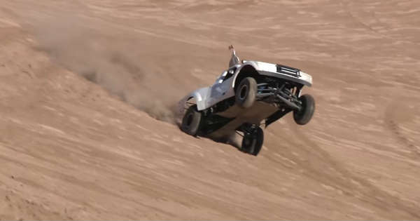 15-Year Old Bashes His LS7 Sand Truck in Glamis Sand Dunes 11