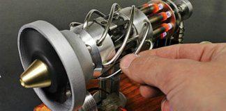 16 Cylinder Stirling Engine runs gas 2
