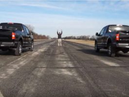 2018 Ford F150 35L Ecoboost vs Ford F150 50L V8 Coyote 1