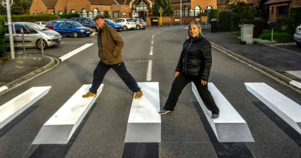 3D Zebra Crossings Greater Road Safety Iceland 2
