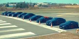 AUDI RS6 vs GTR vs ASTON MARTIN vs HURACAN and PORSCHE TURBO 911 S DRAG RACE 22
