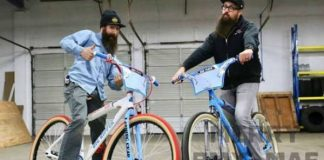 Aaron Kaufman 1st Christmas Gift Mike Buff Bicycle