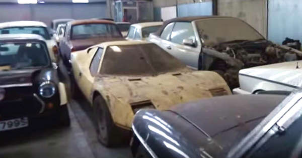 Amazing Millionaires Abandoned Car Collection 1