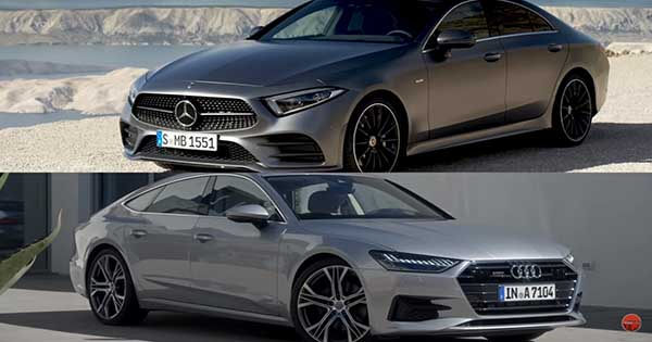Audi A7 vs Mercedes CLS 2