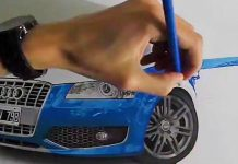 Better Than A Camera Extremely Realistic Audi Drawing 11