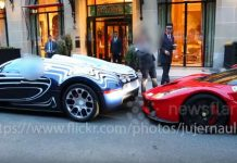 Bugatti hits LaFerarri Most Expensive Ferrari Collision 1