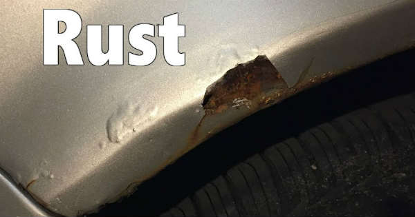 Car Fender Rust Repair diy 2