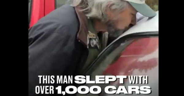 Car Lover SLEPT Over 1000 CARS 2