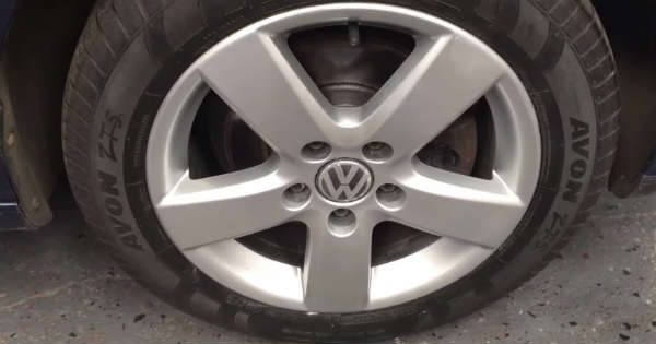 DIY Curb Rash Repair wheel rim 2