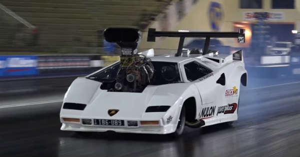 DRAG RACE Fastest Lamborghini Mighty Dodge Coupe 2