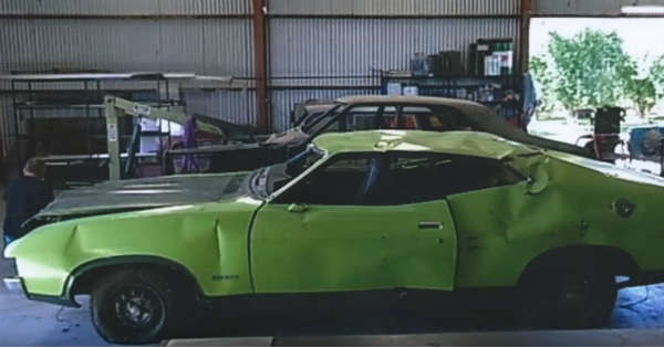 Dads Ford Falcon XA Superbird Restored After 20 Years Sitting In A Farm 2