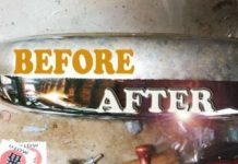 Easy Rust Removal Chrome Coca Cola Aluminum Foil 1