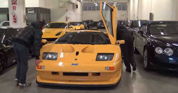 Extremely Rare Lamborghini Diablo GT1 Stradale 2