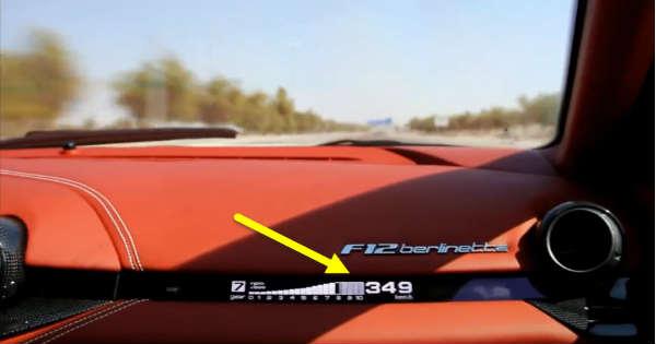 Ferrari F-12 Berlinetta Hits 349 kmh 217 mph 1