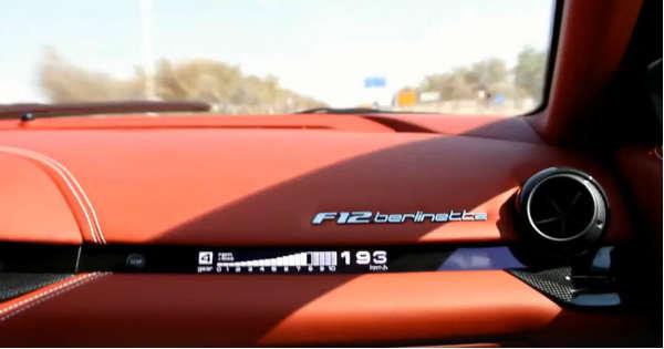Ferrari F-12 Berlinetta Hits 349 kmh 217 mph 2