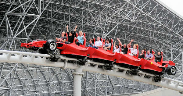 Formula Rossa Roller Coaster Ferrari World Abu Dhabi 1
