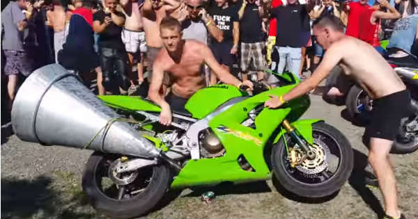 Hear The Loudest Motorcycle Exhaust 11