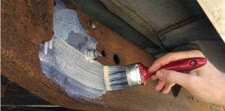 How To Paint Rusty Metal Without Sanding 1