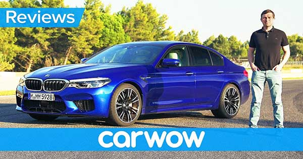 It's Here! CarWow With The New BMW M5 2018 Review!