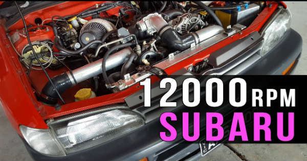 Old Subaru That Revs To 12000 RPM 1