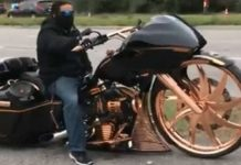 Prodigious Motorcycle big bike wheels custom build 2