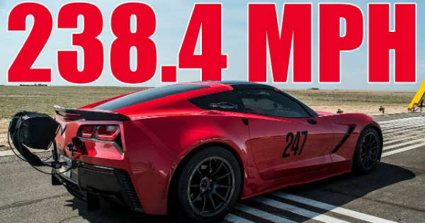 Record-Breaking TES Performance C7 Corvette Mile 2