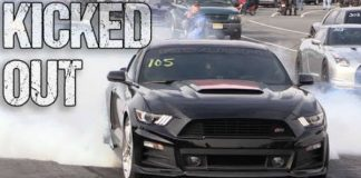 Roush Stage 3 Mustang Kicked Out Drag Strip TOO FAST 1