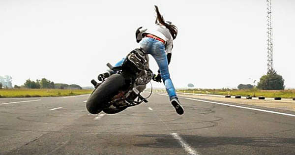 Sarah Lezito - Female Stunter That Never Give Up 1