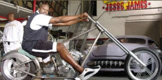 Shaquille O Neal Motorcycle 2001 WC Choppers El Diablo 11