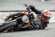 Sideways Drifting With The KTM Duke 390 Supermoto Mode 11