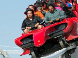 The Formula Rossa Roller Coaster at Ferrari World 22