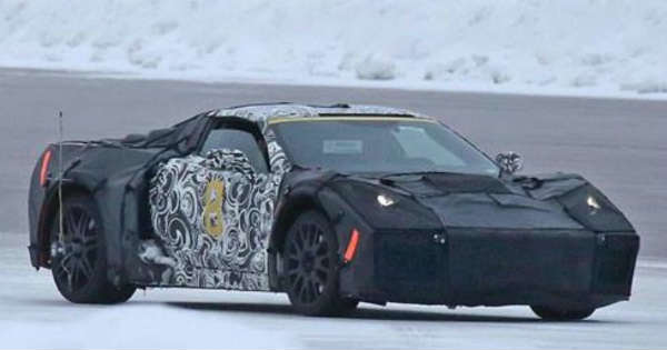 The New Corvette Was Being Forced Induction AWD Hybrid 2