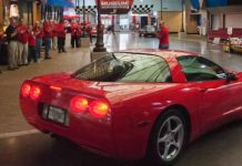 This 1999 Corvette With 773000 Miles Was Donated To The Corvette Museum 1