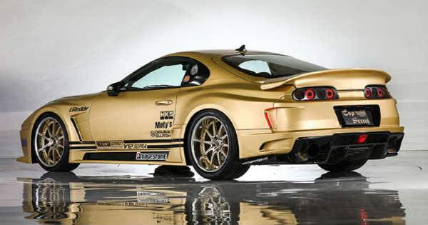 Top Secret V12 Toyota Supra 222 mph Auction Sale 1