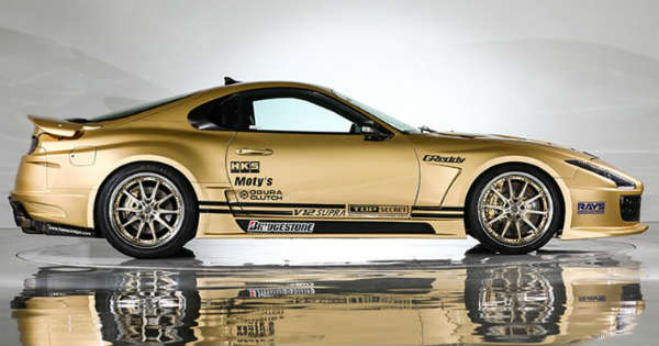 Top Secret V12 Toyota Supra 222 mph Auction Sale 2