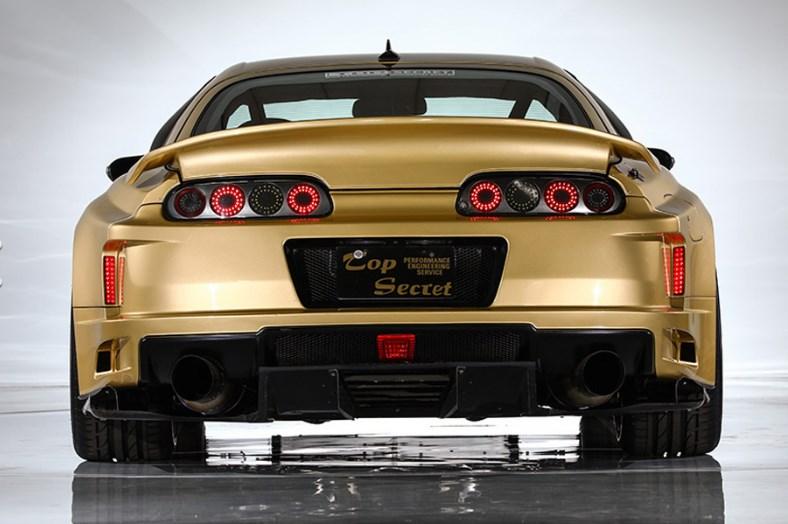 Top Secret V12 Toyota Supra 222 mph Auction Sale 9