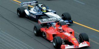 Trulli VS Schumacher VS Montoya F1 Melbourne 2002 11