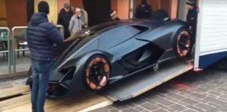 Unique Lamborghini Delivery Truck 1