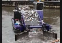 Water Garbage Cleaner Pollution Trash Skimmer 1