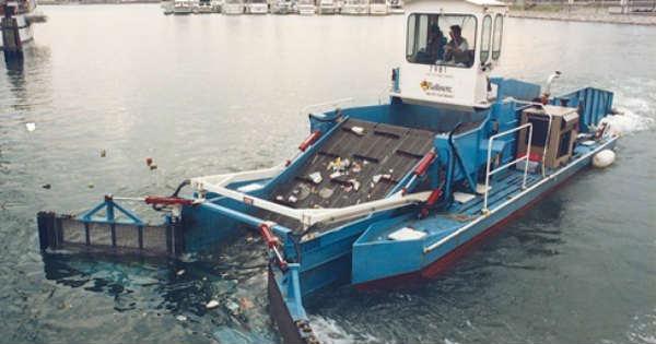 Water Garbage Cleaner Pollution Trash Skimmer 2