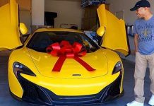 Wife Surprise Dream Car McLaren 1