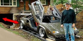 17 Years To Build This Lamborghini Countach 1