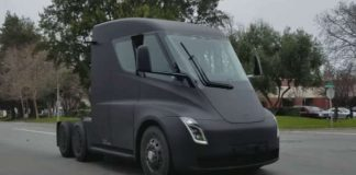 2018 Tesla Semi Truck Spotted On Californian Road 1