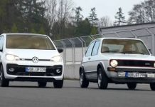2018 VW UP GTI vs 1976 VW Golf 1 GTI - Future vs Past 1