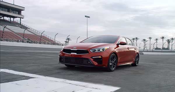 2019 Kia Forte Takes On The Lamborghini Aventador 2