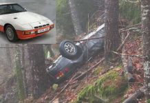 26 Years Later This Stolen Porsche Was Found in Oregon Woods!