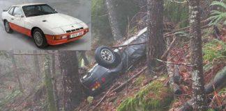 26 Years Later This Stolen Porsche Was Found in Oregon Woods!