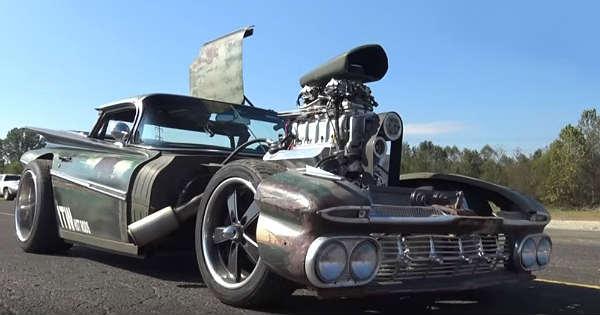 800HP Chevy El Camino Rat Rod 1