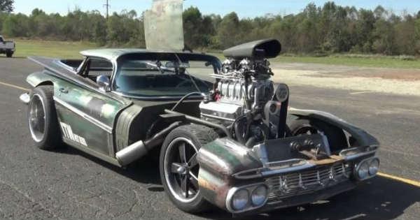 800HP Chevy El Camino Rat Rod 11